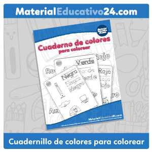 Cuaderno de colores para colorear